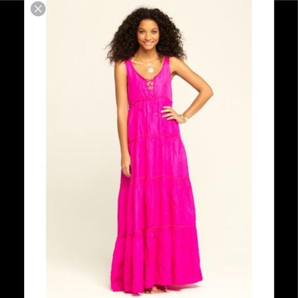 6afd591c374 Calypso St. Barth Dresses & Skirts - Calypso St. Barth's Pink Silk Nettie  dress